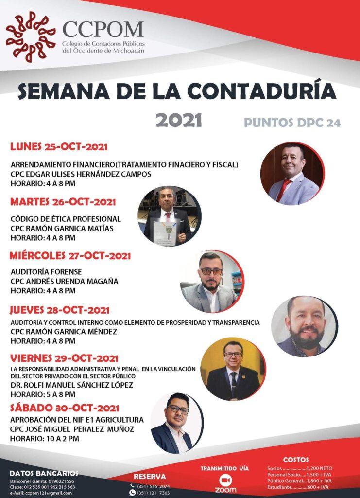 Semana de la Contaduría 2021